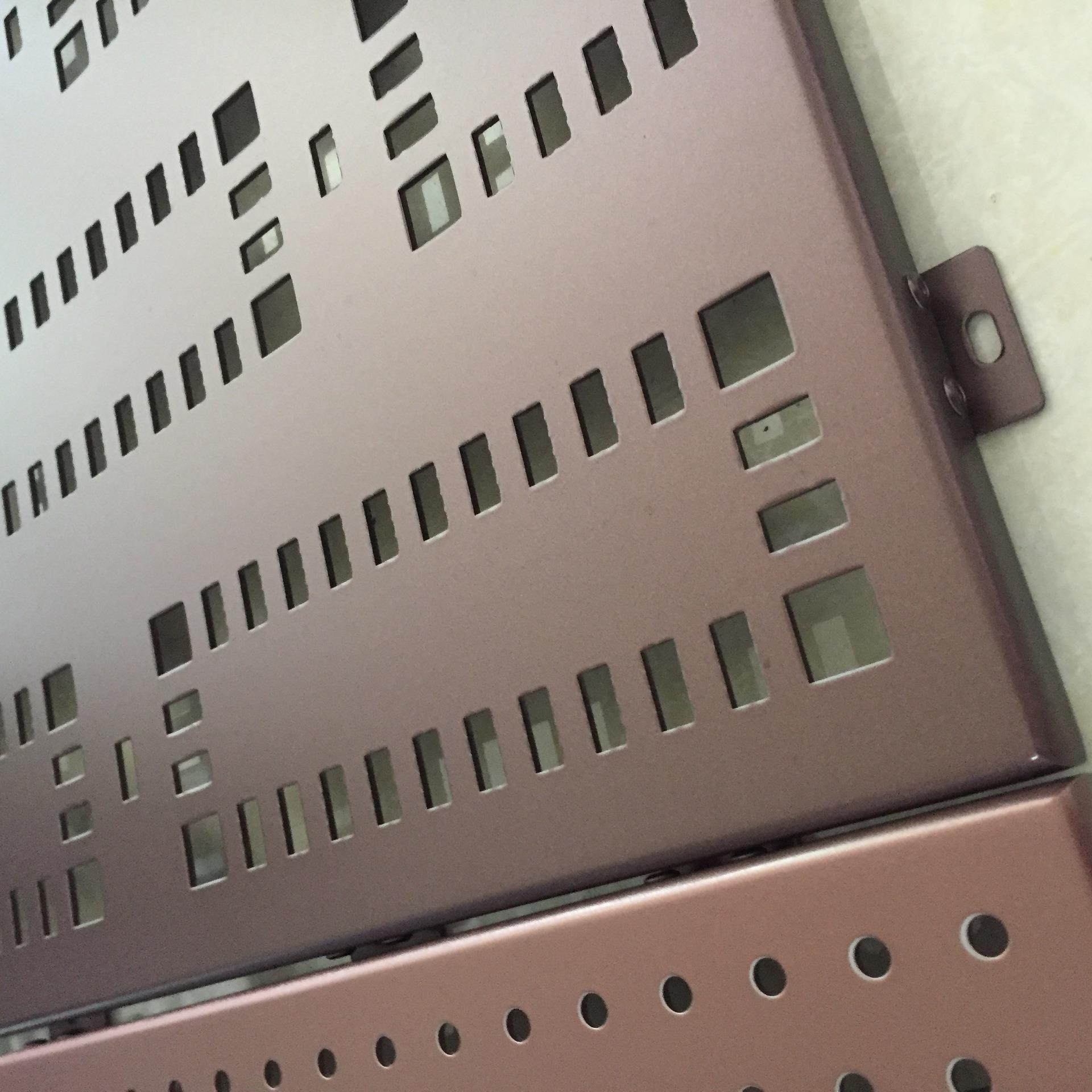 冲孔铝单板建筑材料新时尚