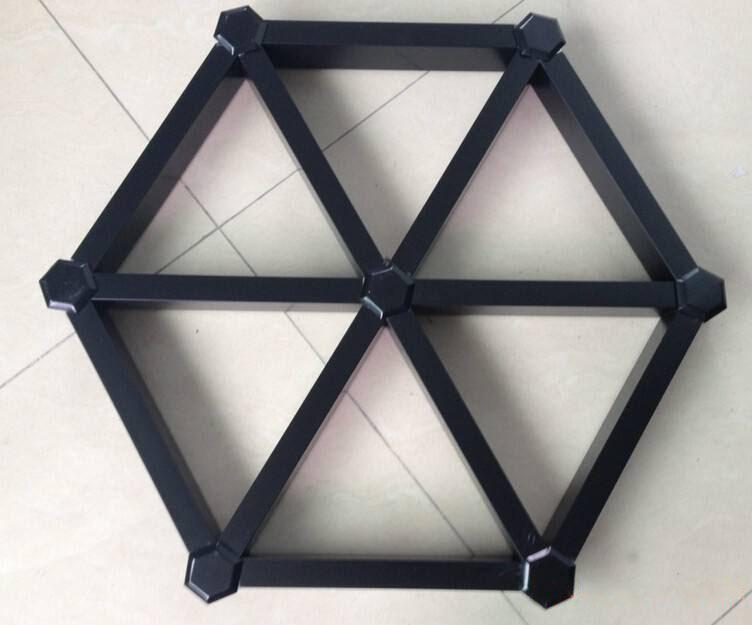 六角铝格栅