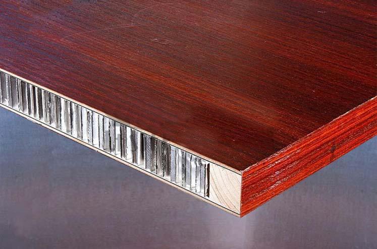 仿木纹蜂窝铝板